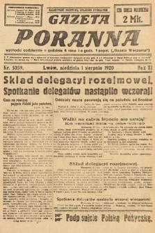 Gazeta Poranna. 1920, nr5359