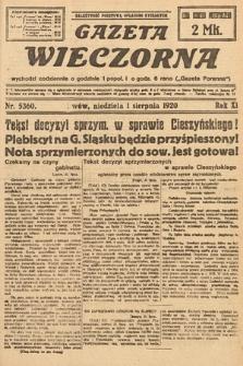 Gazeta Wieczorna. 1920, nr5360