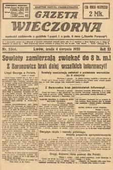 Gazeta Wieczorna. 1920, nr5364