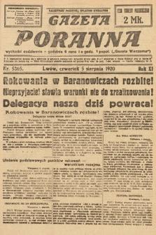 Gazeta Poranna. 1920, nr5365