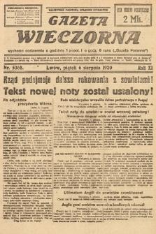 Gazeta Wieczorna. 1920, nr5368