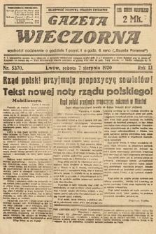 Gazeta Wieczorna. 1920, nr5370