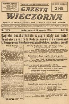 Gazeta Wieczorna. 1920, nr5374