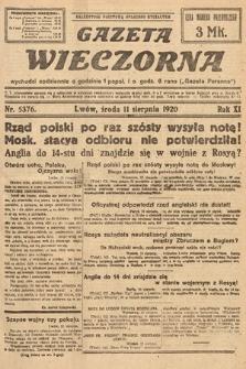 Gazeta Wieczorna. 1920, nr5376