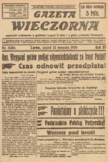 Gazeta Wieczorna. 1920, nr5380