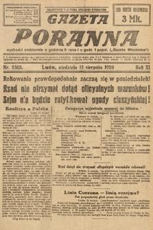 Gazeta Poranna. 1920, nr5383