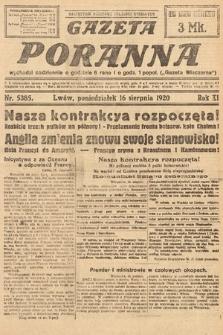 Gazeta Poranna. 1920, nr5385