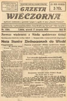Gazeta Wieczorna. 1920, nr5386