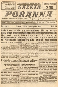 Gazeta Poranna. 1920, nr5387