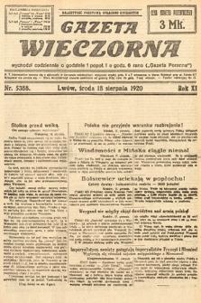 Gazeta Wieczorna. 1920, nr5388