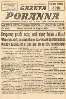 Gazeta Poranna. 1920, nr5389