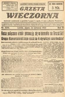 Gazeta Wieczorna. 1920, nr5392