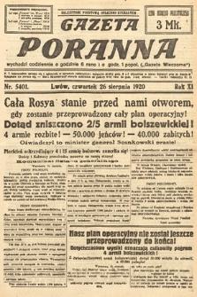 Gazeta Poranna. 1920, nr5401