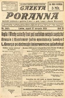 Gazeta Poranna. 1920, nr5403