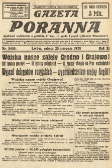 Gazeta Poranna. 1920, nr5405