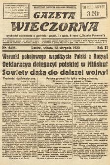 Gazeta Wieczorna. 1920, nr5406