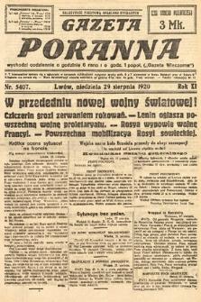 Gazeta Poranna. 1920, nr5407