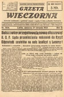 Gazeta Wieczorna. 1920, nr5408