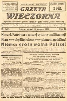 Gazeta Wieczorna. 1920, nr5410