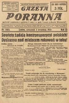 Gazeta Poranna. 1920, nr5413