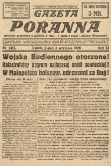 Gazeta Poranna. 1920, nr5415