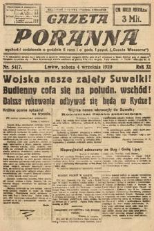 Gazeta Poranna. 1920, nr5417