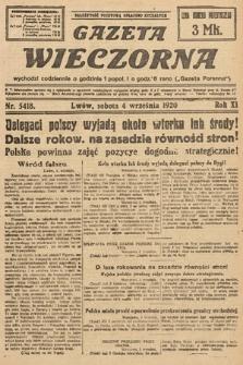 Gazeta Wieczorna. 1920, nr5418