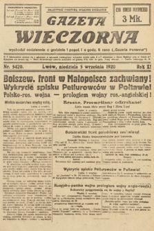 Gazeta Wieczorna. 1920, nr5420