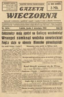 Gazeta Wieczorna. 1920, nr5424