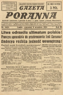 Gazeta Poranna. 1920, nr5425