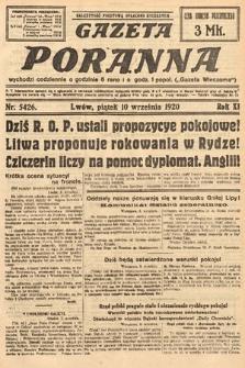 Gazeta Poranna. 1920, nr5426