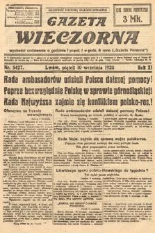 Gazeta Wieczorna. 1920, nr5427
