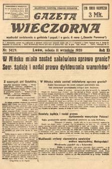 Gazeta Wieczorna. 1920, nr5429