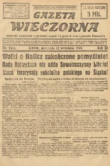Gazeta Wieczorna. 1920, nr5431