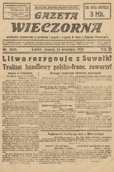 Gazeta Wieczorna. 1920, nr5433