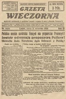 Gazeta Wieczorna. 1920, nr5435