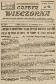 Gazeta Wieczorna. 1920, nr5437