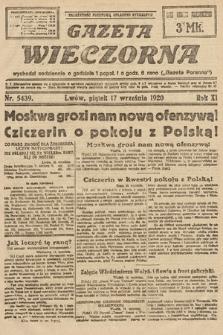 Gazeta Wieczorna. 1920, nr5439