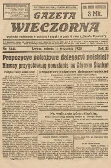Gazeta Wieczorna. 1920, nr5441
