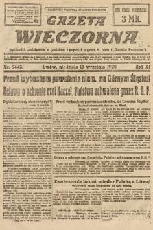 Gazeta Wieczorna. 1920, nr5443