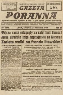 Gazeta Poranna. 1920, nr5448