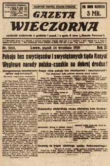 Gazeta Wieczorna. 1920, nr5451