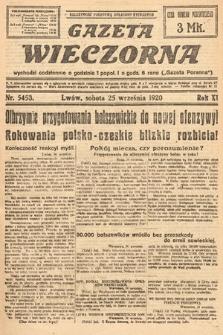 Gazeta Wieczorna. 1920, nr5453