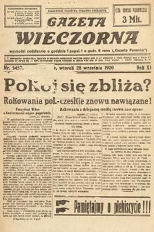 Gazeta Wieczorna. 1920, nr5457