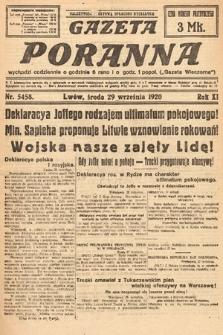 Gazeta Poranna. 1920, nr5458