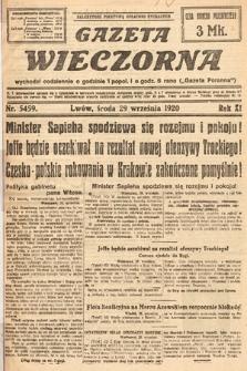 Gazeta Wieczorna. 1920, nr5459