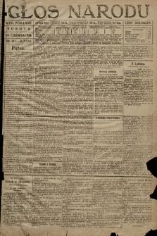 Głos Narodu (wydanie poranne). 1918, nr141