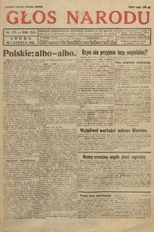 Głos Narodu. 1935, nr173