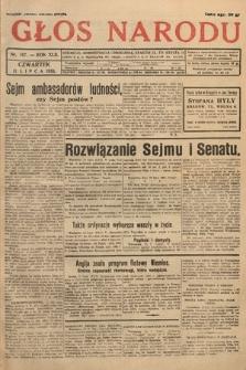 Głos Narodu. 1935, nr187
