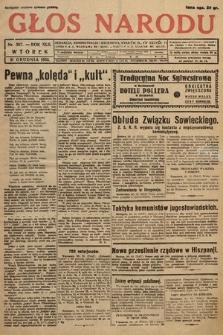 Głos Narodu. 1935, nr357